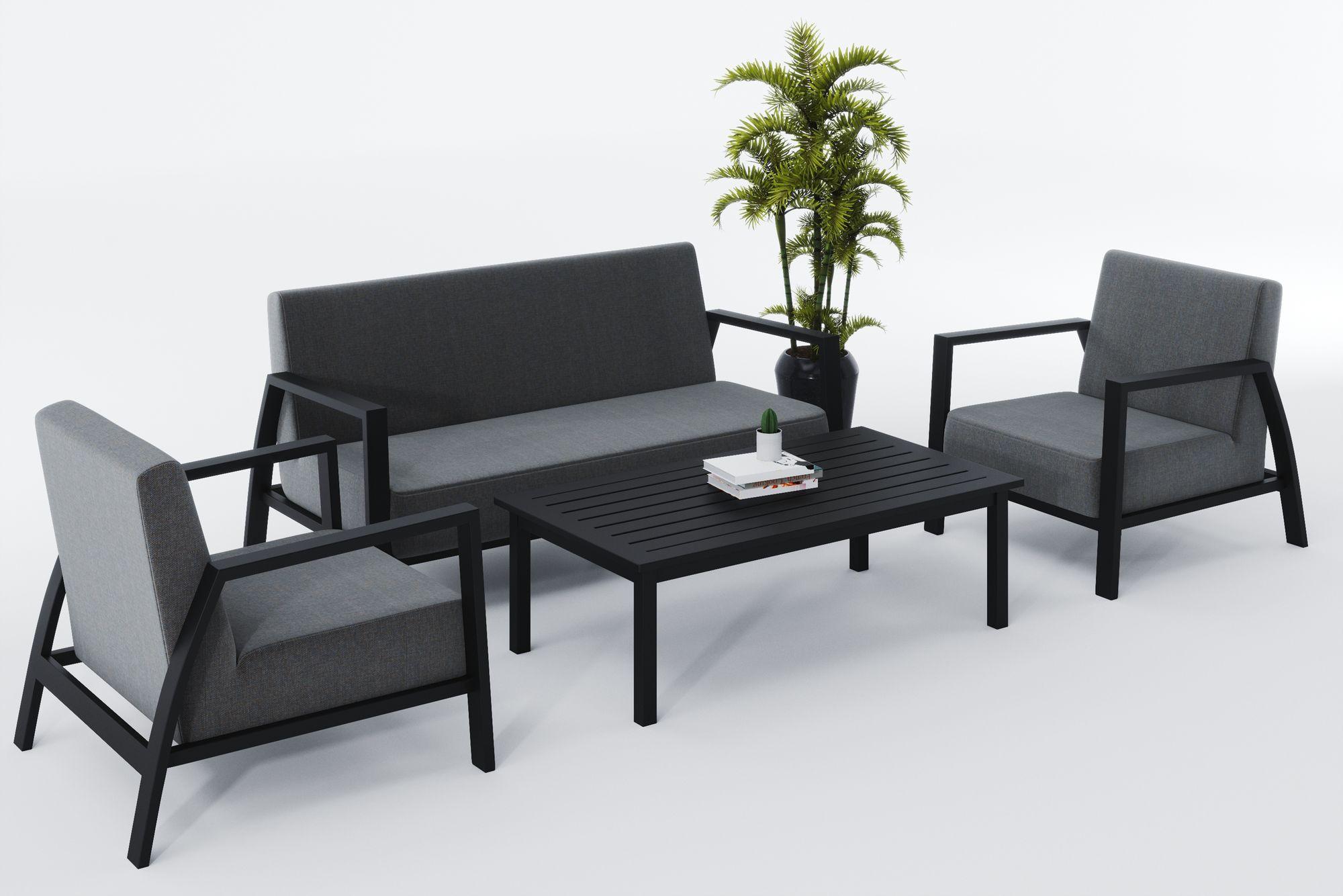 Фото-Садовая мебель из алюминия CLASSICO