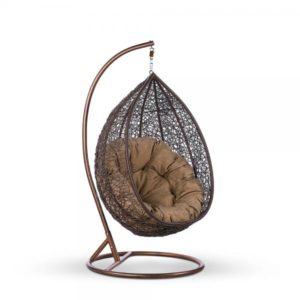 "Фото-Подвесное кресло ""Glory"" brown"