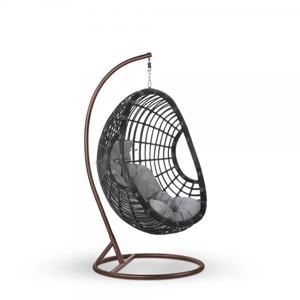 """Фото-Подвесное кресло """"Venus"""" grey"""