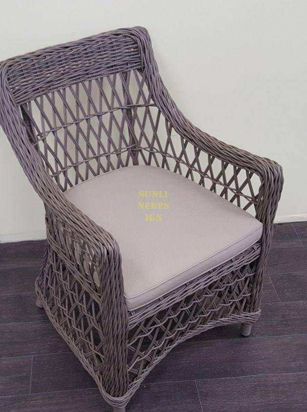 Фото-Кресло плетеное Beatrix beige
