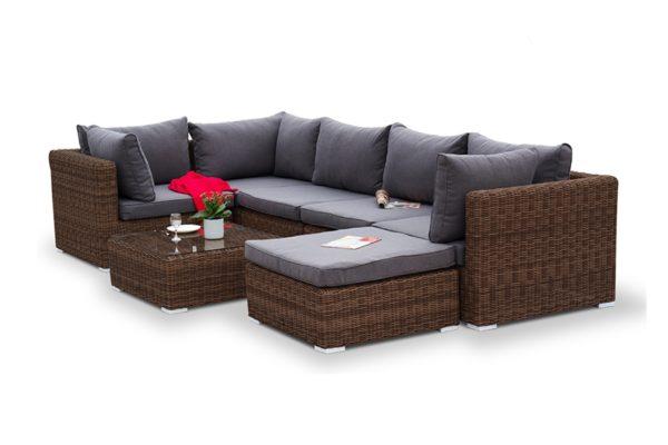 """Фото-Плетеная мебель """"Lungo"""" brown"""