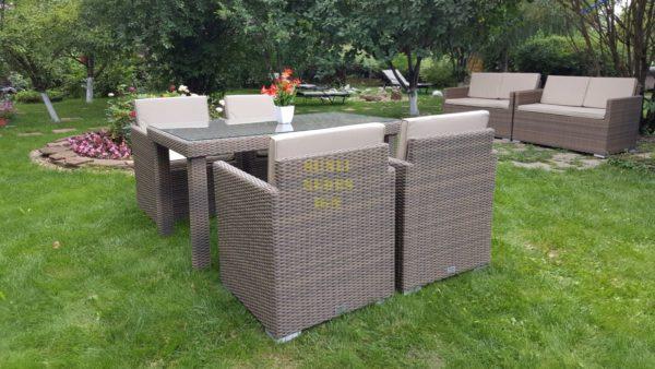 Фото-Плетеная мебель Infinity 160 cuatro beige