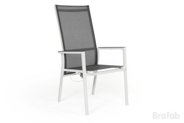"""Кресло садовое """"AVANTI"""" белый/серый Brafab"""