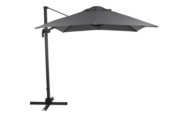 "Зонт садовый на боковой опоре ""Linz"" 250х250 серый Brafab"