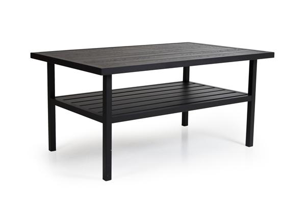 """Стол садовый """"Bergerac"""" black 140х90 Brafab"""