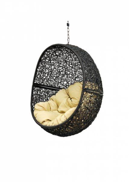 """Подвесное кресло """"Lunar"""" black"""