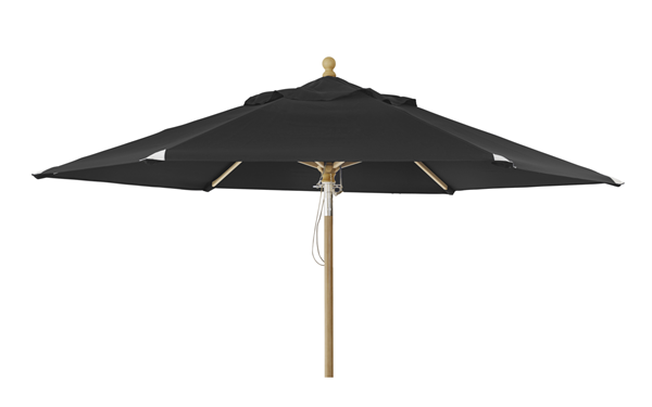 "Зонт садовый ""TRIESTE"" d250 черный Brafab"