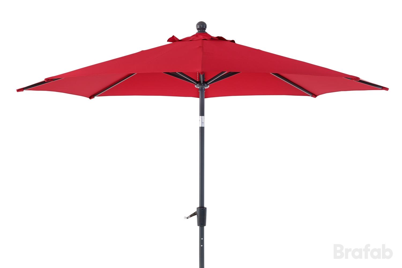 """Зонт садовый """"Florens"""" красный Brafab"""