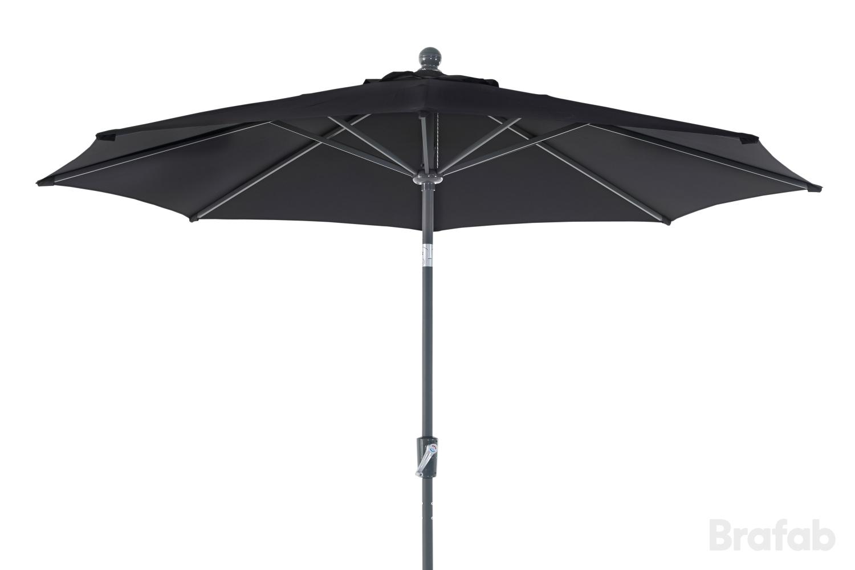 """Зонт садовый """"Florens"""" черный Brafab"""