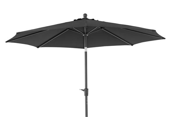 """Зонт садовый """"TARANTO"""" d300 черный Brafab"""