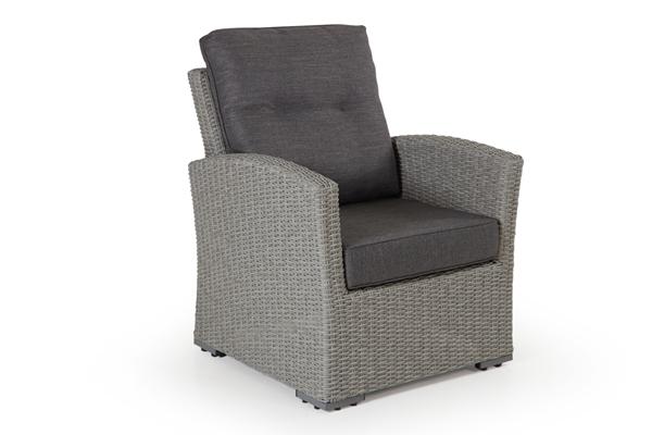 """Кресло из искусственного ротанга """"Ashfield"""" grey Brafab"""