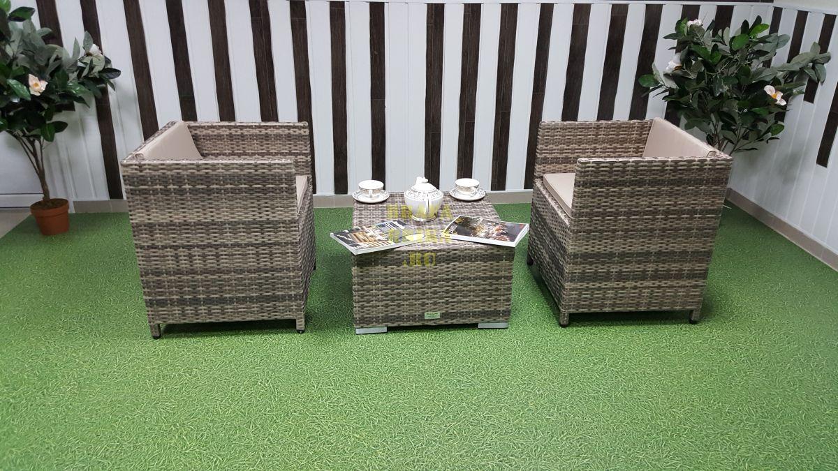 """Плетеная мебель """"Barbados"""" cafe 2 set"""