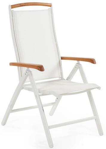 """Кресло из текстилена """"Andy"""" white"""