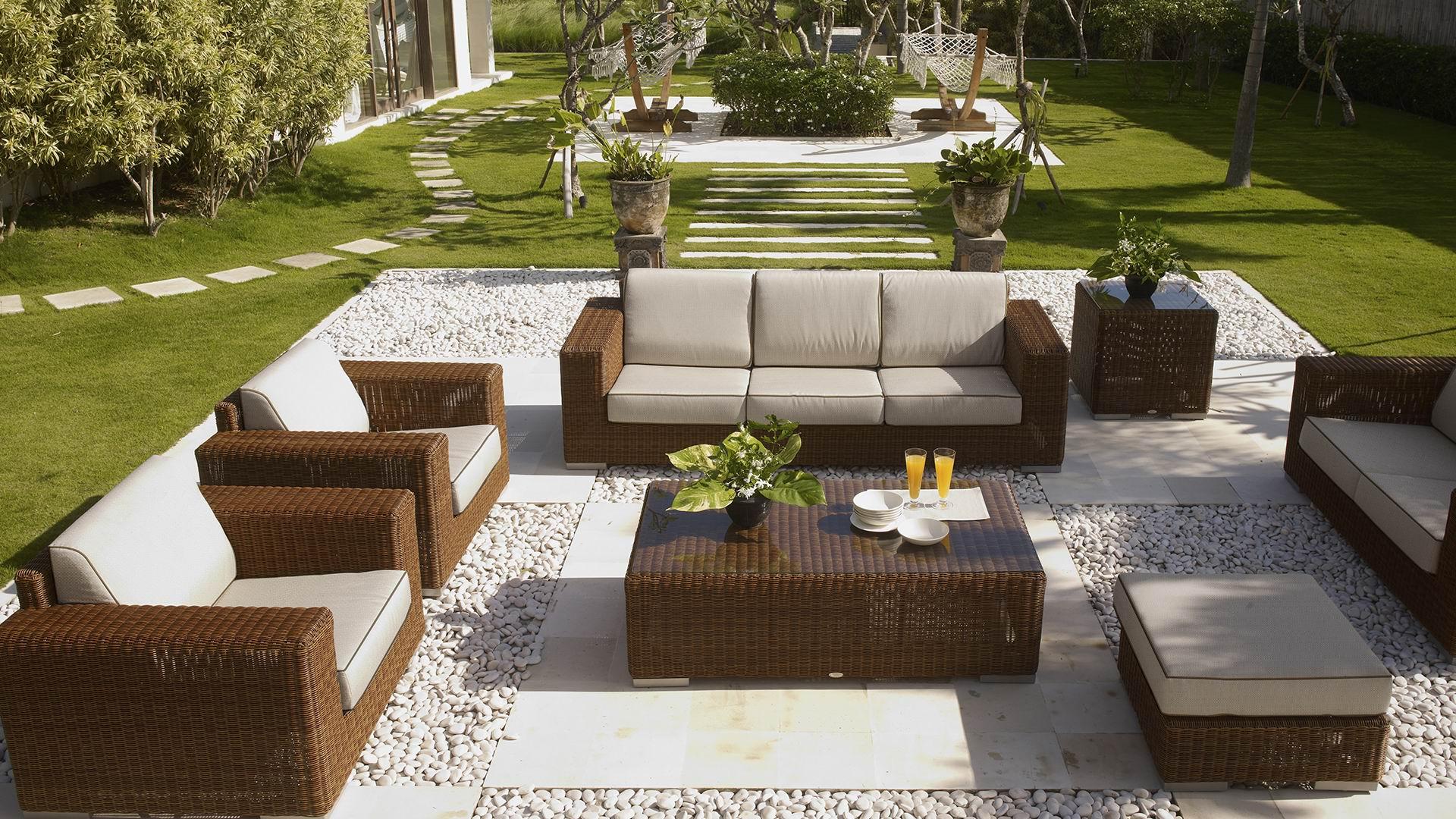 """Плетеная мебель """"CUATRO-PACIFIC"""" set 1"""