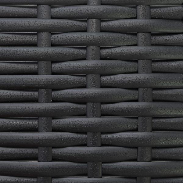 Искусственный ротанг Flat Leather Black