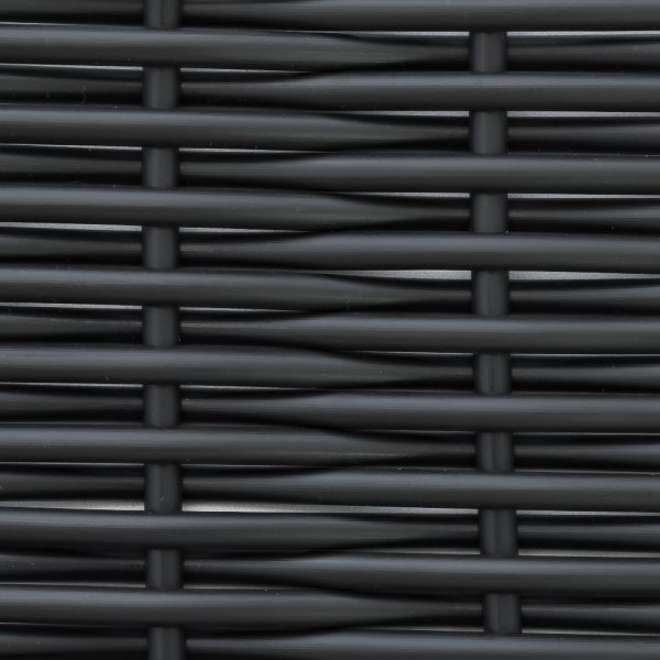 Искусственный ротанг Round Classical Black