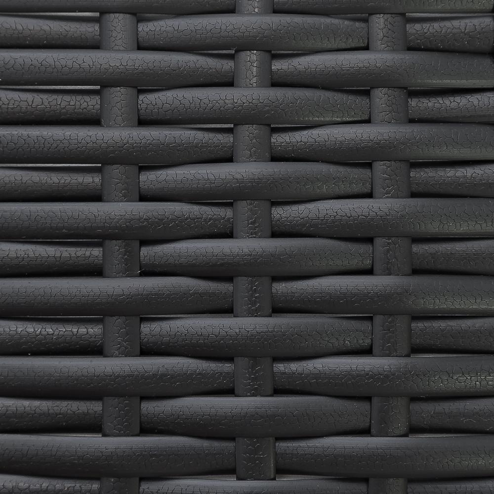 """Плетеная мебель """"Nina"""" black Lounge"""
