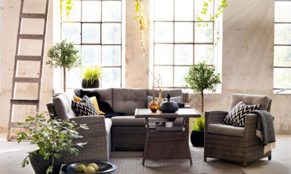 """Плетеная мебель """"Soho"""" grey"""