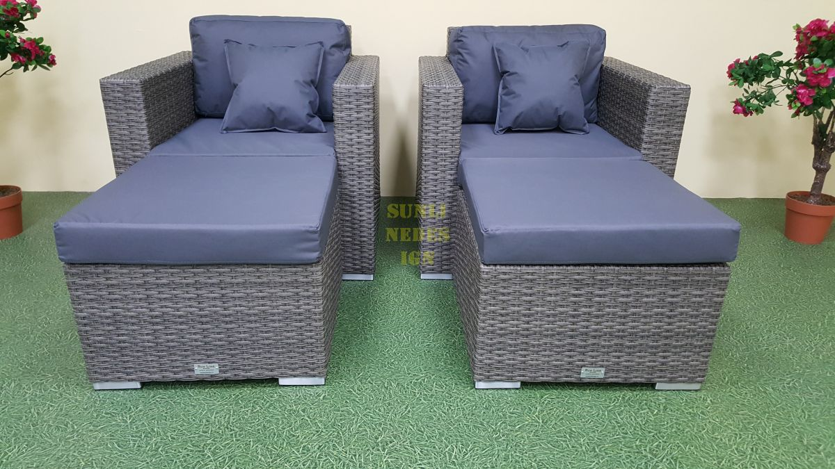 "Плетеная мебель ""Allegro"" natur&grey relax"