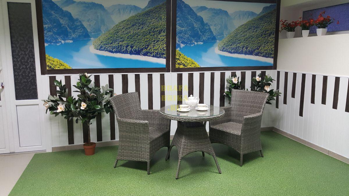 """Плетеная мебель """"Samurai"""" Cafe set"""