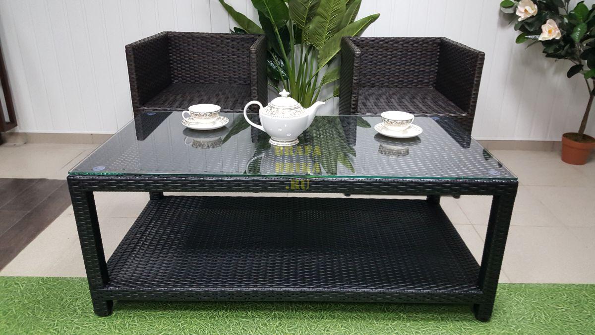 """Плетеная мебель """"New York"""" cafe set"""