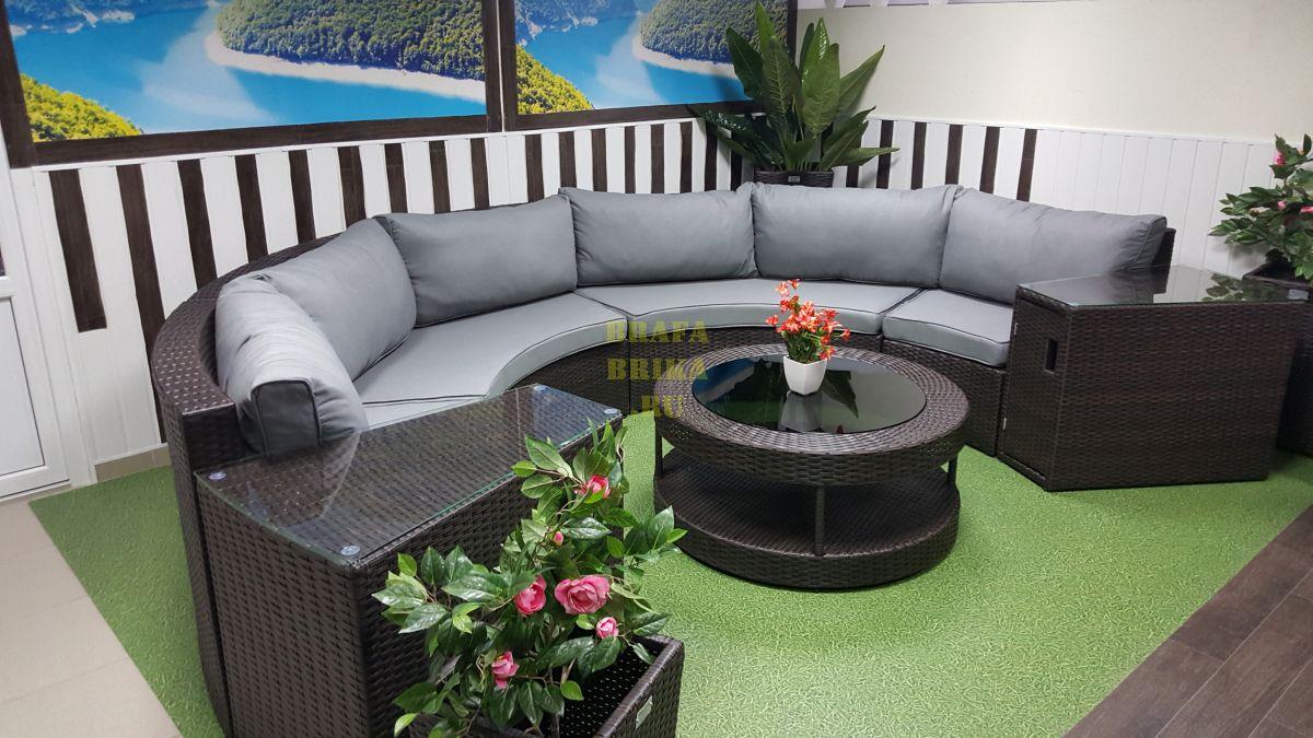 "Плетеная мебель ""Galaxy"" lounge 7"
