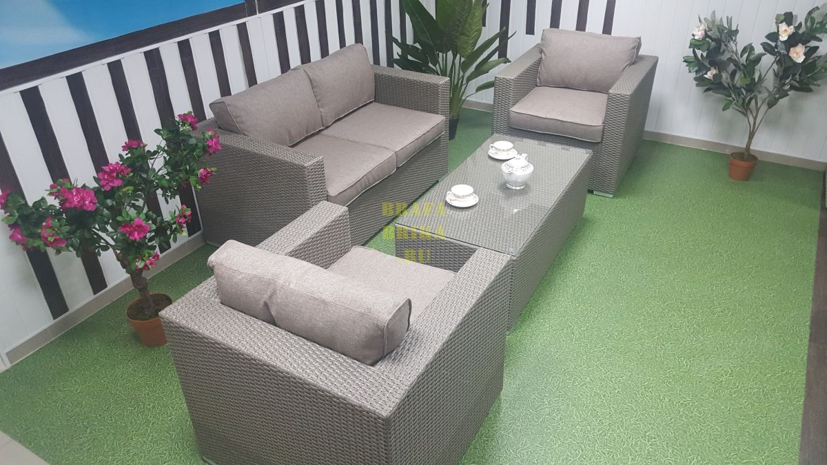 "Плетеная мебель ""Louisiana"" Lounge mocco"