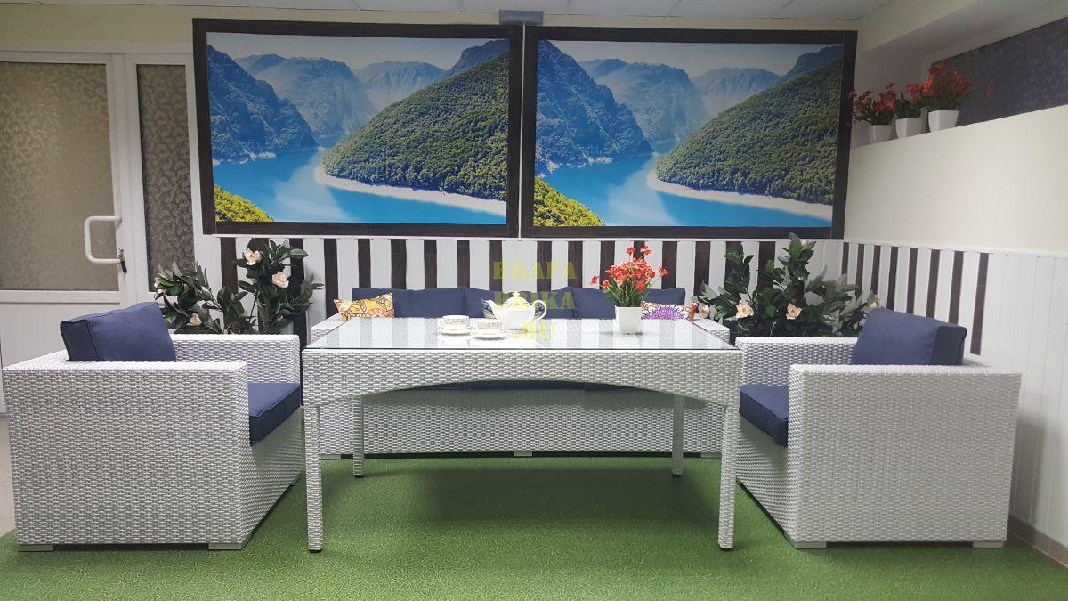 """Плетеная мебель """"Louisiana"""" dining lounge set"""