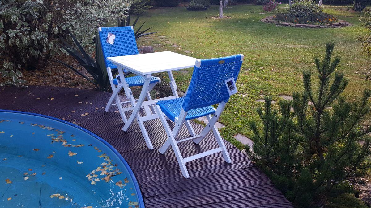 """Плетеная мебель """"Arizona Dream"""" blue Cofe Set"""