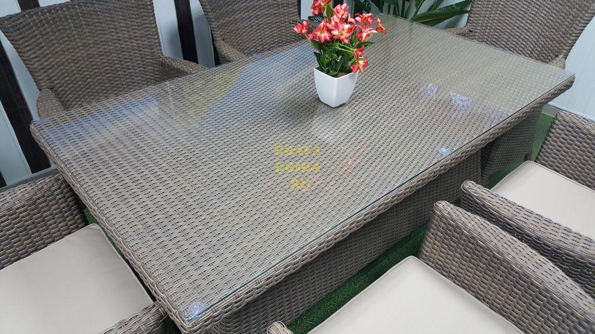 """Плетеная мебель """"Samurai"""" beige 6"""