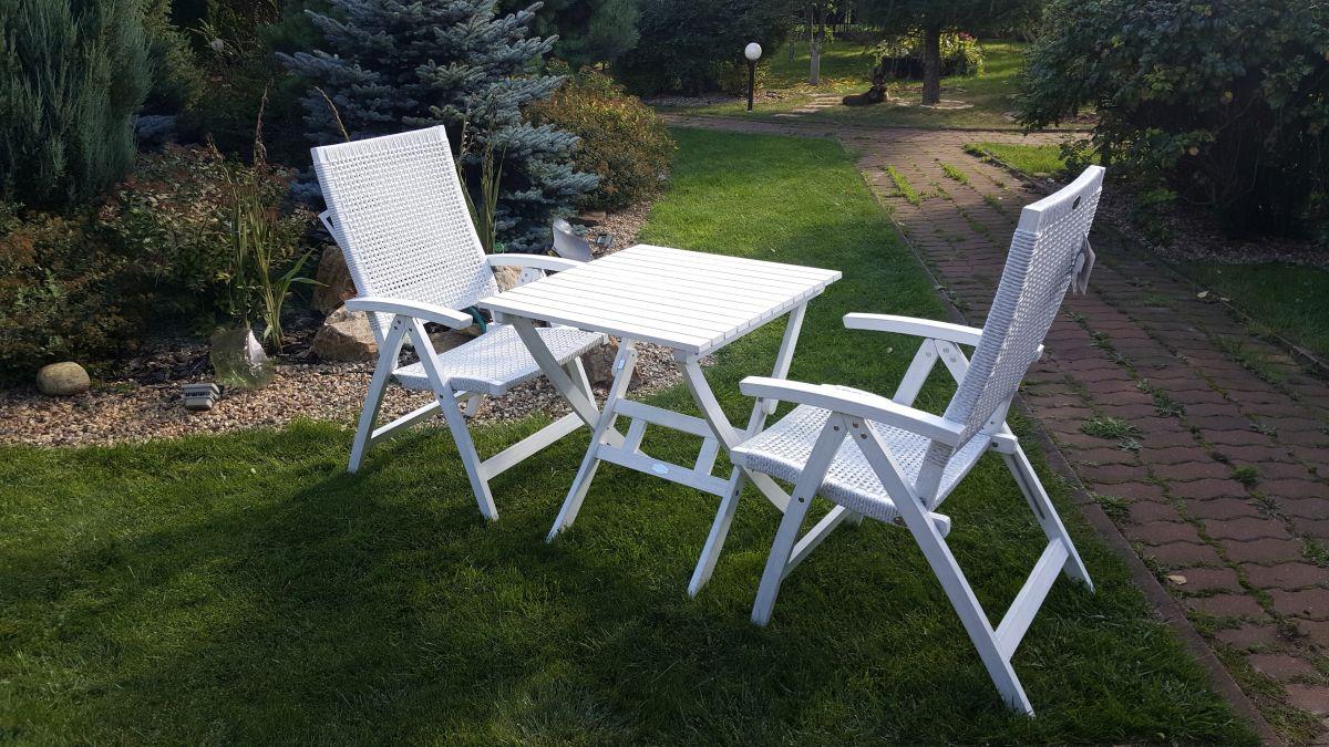 """Плетеная мебель """"Arizona Dream"""" white Cofe Set"""