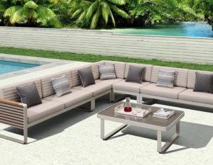 Садовая мебель из алюминия комплекты