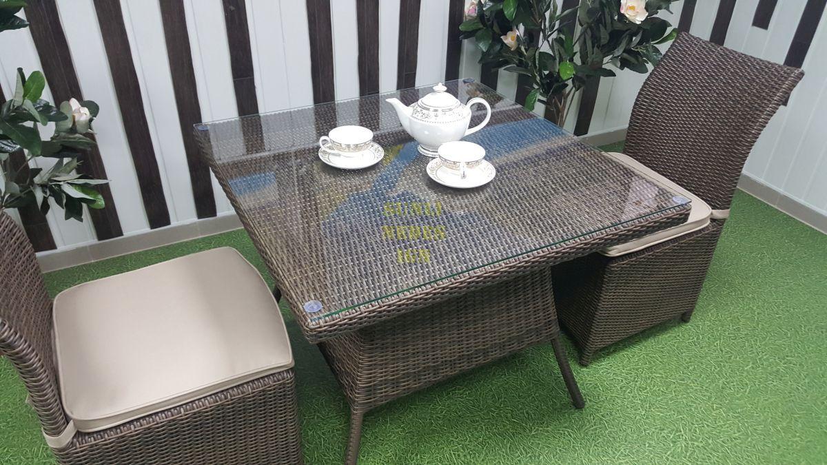 "Плетеная мебель ""Rose"" royal brown 2"