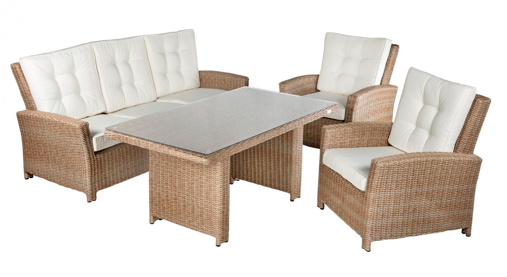 """Плетеная мебель """"Orlando"""" set 2"""
