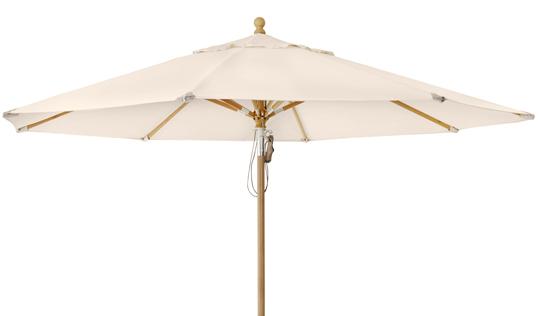 """Зонт садовый """"Parma"""" D350 бежевый Brafab"""