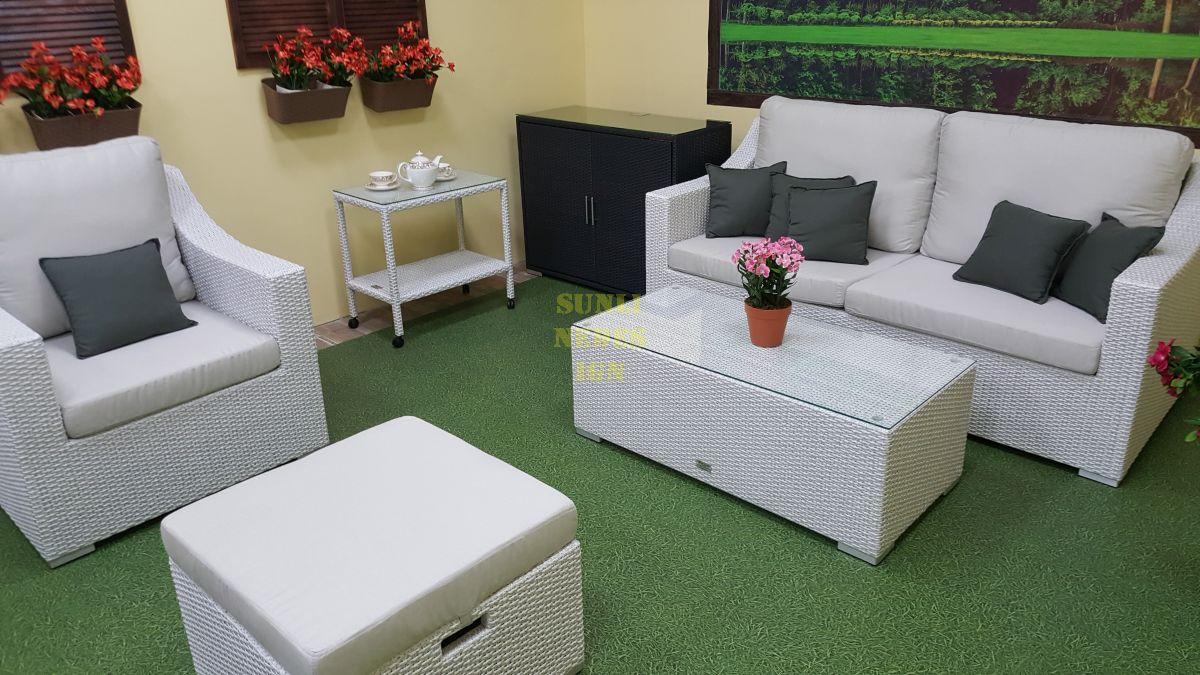 """Плетеная мебель """"Pegas"""" white"""