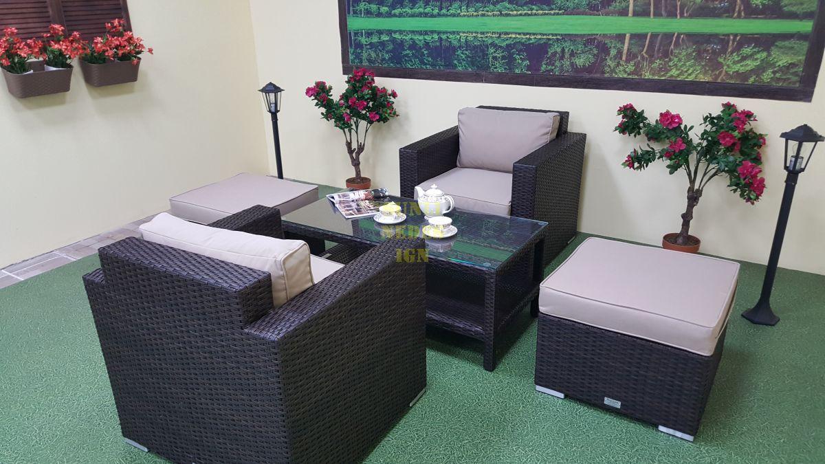 """Плетеная мебель """"Acoustic"""" balcony set"""