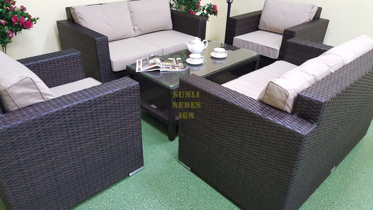 """Плетеная мебель """"Acoustic"""" lounge"""