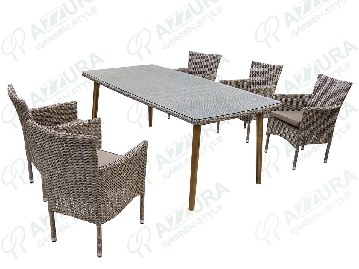 """Плетеная мебель """"Capri + Arosa"""" Azzura"""