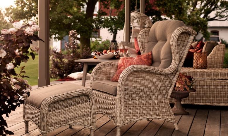 "Плетеная мебель ""Evita"" beige"