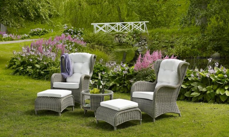 "Плетеная мебель ""Evita grey"" relax"