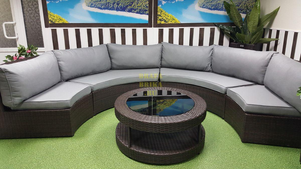 "Плетеная мебель ""Galaxy"" lounge 5"