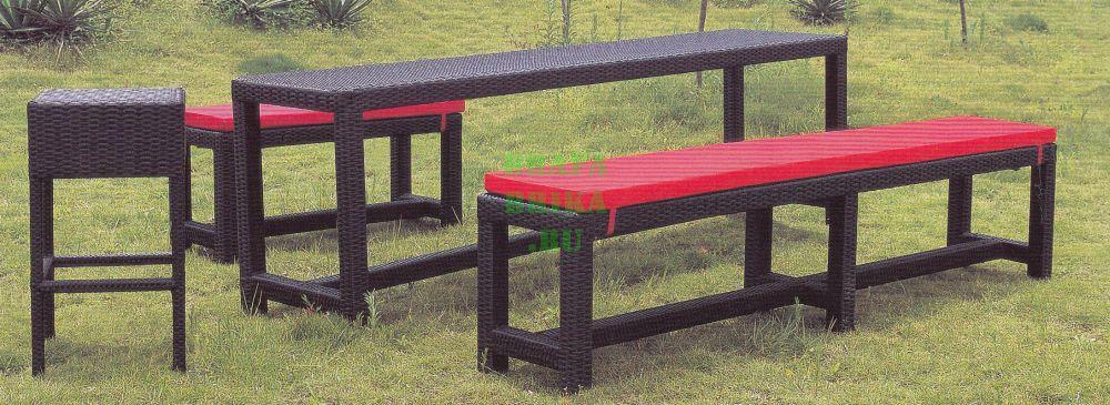 """Плетеная мебель  """"Garden Bench"""""""