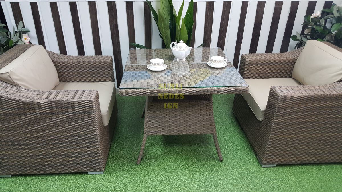 "Плетеная мебель ""Glendon"" 2 dining"