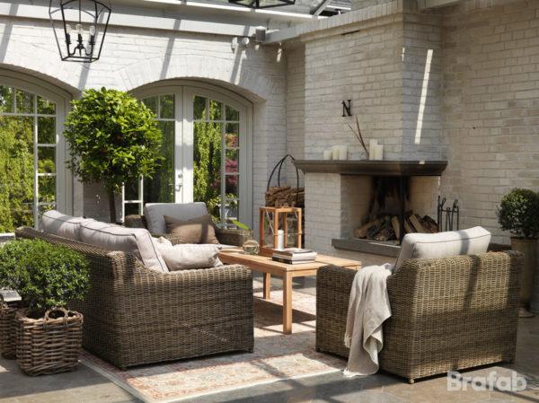 "Плетеная мебель ""Glendon"""