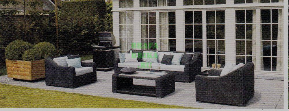 """Плетеная мебель """"Glendon"""" Lounge Set"""