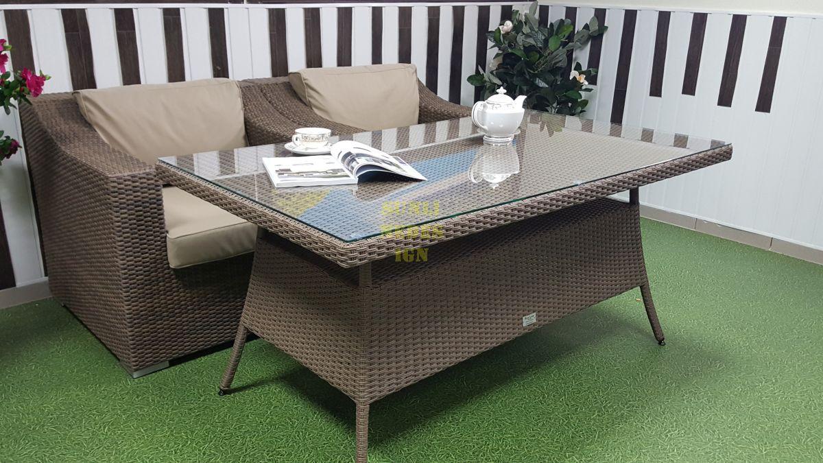 "Плетеная мебель ""Glendon"" 4 dining"