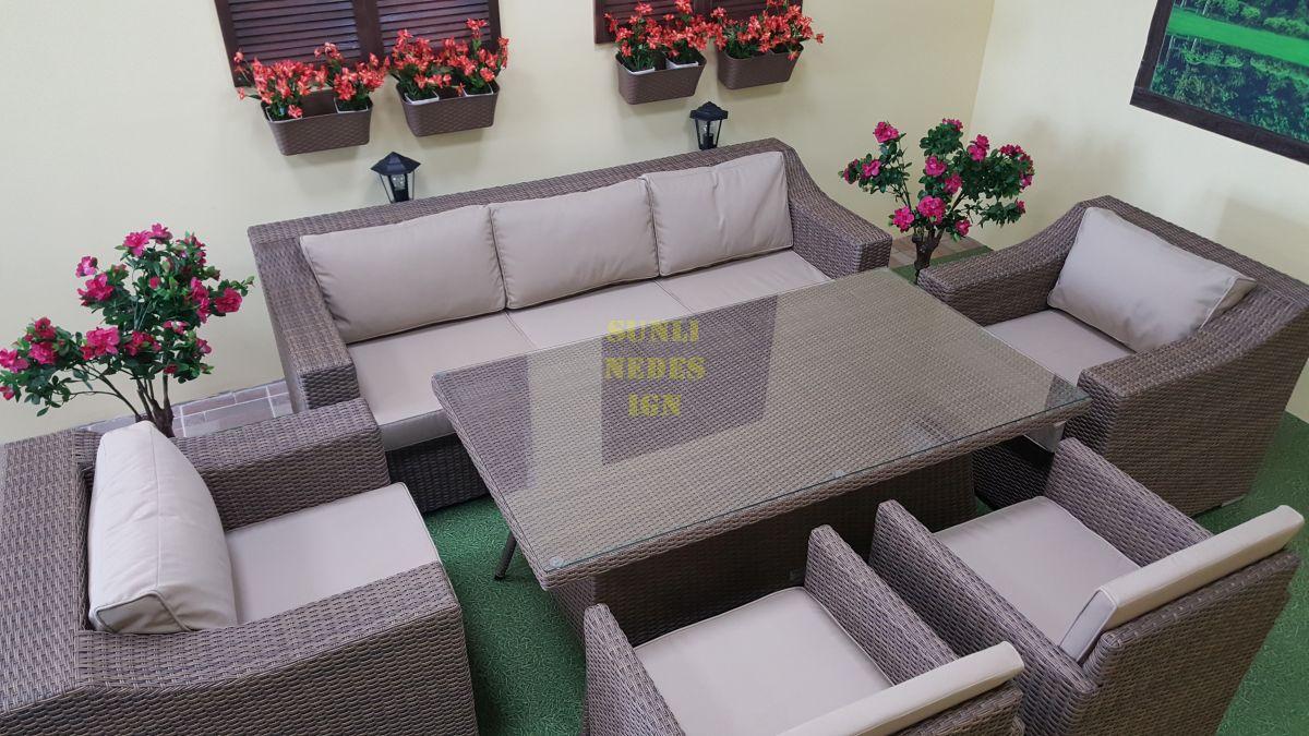"Плетеная мебель ""Glendon"" royal beige"
