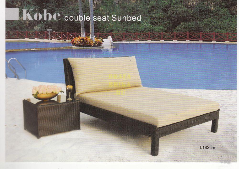 """Плетеная мебель """"Kobe Sunbed"""""""