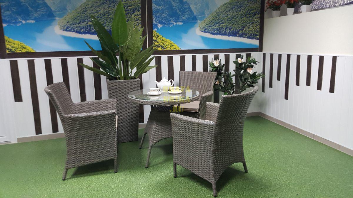 """Плетеная мебель """"Nina"""" natur Cafe set"""